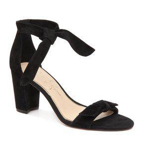 Jessica Simpson Mystie Sandal Black Sz 8 - NWOT